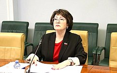 Наш Комитет Совета Федерации продолжит мониторинг ситуации сценами напродовольствие врегионах— Л. Талабаева