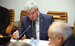 В. Бондарев провел «круглый стол», посвящённый совершенствованию подготовки кадров для следственных органов