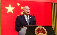 Д. Мезенцев: Россия иКитай достигли высокого уровня межгосударственных отношений