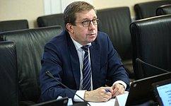 А. Майоров: В2021году предстоит работа над значимыми иактуальными законопроектами всфере АПК