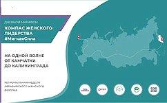 Сенаторы приняли участие в16-часовом марафоне «Компас женского лидерства #МягкаяCила»