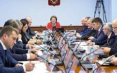 Сенаторы рассмотрели вопросы реализации моделей инклюзивного образования вВоронежской области