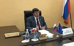 С. Цеков обсудил сжителями Крыма социальные вопросы