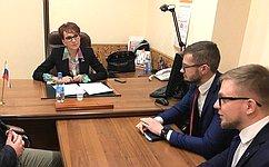 Т. Кусайко обсудила вопросы организации областного ресурсного центра для людей сограниченными возможностями здоровья