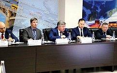 В. Семенов принял участие взаседании Полярной комиссии Красноярского края