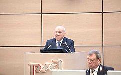 Вопросы развития железнодорожного транспорта постоянно находятся вцентре внимания Совета Федерации— Д.Мезенцев