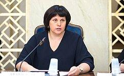 Е. Афанасьева приняла участие взаседании Общественного совета при Росрыболовстве