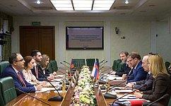 Форматы российско-армянского межпарламентского взаимодействия могут быть самыми широкими— К.Косачев