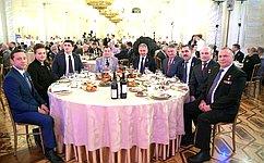 Ю. Воробьев принял участие вторжественном приеме послучаю Дня Героев Отечества