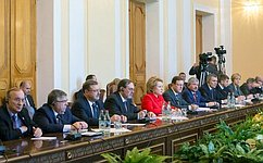 В. Матвиенко: Российско-армянское стратегическое союзничество ипартнерство становится все более разносторонним