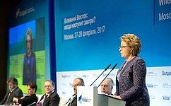 Россия неизменно поддерживает стремление народов Ближнего Востока самостоятельно выбирать путь развития– В.Матвиенко