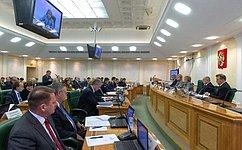 В. Матвиенко: Наша общая задача– выработать законодательные предложения, устраняющие барьеры для конверсии ОПК
