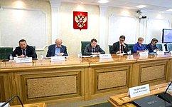 С. Шатиров: Вопросы взаимодействия поставщиков ипотребителей энергоресурсов находятся под контролем Комитета СФ поэкономической политике