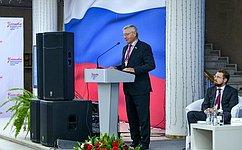 Г. Савинов: Ульяновская область создаёт новые тенденции всфере культурной политики