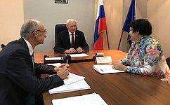 Н. Тихомиров: Представители всех органов власти должны внимательно относиться кпросьбам ипредложениям граждан