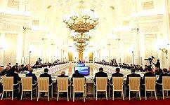 В. Матвиенко приняла участие всовместном заседании Госсовета иКомиссии помониторингу достижения целевых показателей социально-экономического развития страны