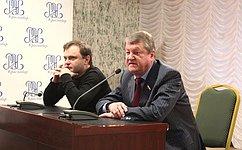 В. Харламов встретился состудентами Краснодарского филиала Российского экономического университета им. Г.В. Плеханова
