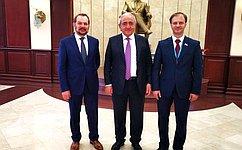 С.Белоусов принял участие вработе заседания ПАЧЭС
