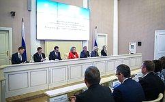 В.Матвиенко: Нужно сформировать единую систему мониторинга национальных, федеральных ирегиональных проектов