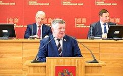 В.Семенов: Сегодня перед депутатами стоят колоссальные задачи, связанные свыполнением национальных ирегиональных проектов
