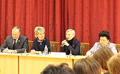Л.Бокова: Важнейшее направление совершенствования сферы образования– создание эффективной системы подготовки специалистов