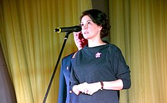 М. Павлова приняла участие вцеремонии вручения призов победителям кинофестиваля «Надежда» вЧелябинске