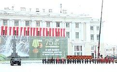 В. Матвиенко приняла участие впамятных мероприятиях, посвященных 75-й годовщине полного освобождения Ленинграда отфашистской блокады