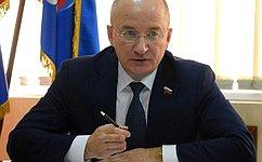 О.Цепкин обсудил сжителями Челябинской области темы развития инфраструктуры исоциальной поддержки