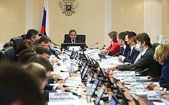 Профильный Комитет СФ обсудил вопросы реализации Стратегии развития Арктической зоны РФ