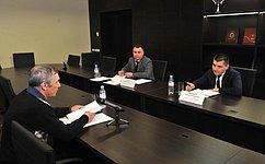 C. Мамедов провел прием граждан спрямой трансляцией всети Интернет