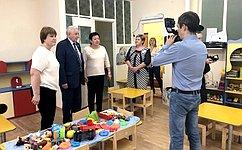 В. Марков посетил срабочим визитом город Усинск Республики Коми