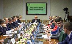 Сенаторы обсудили перспективы развития АПК иобеспечения рационального природопользования вТульской области