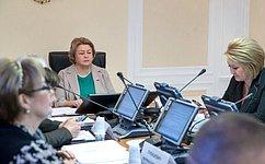 ВСовете Федерации состоялось заседание Комитета СФ понауке, образованию икультуре