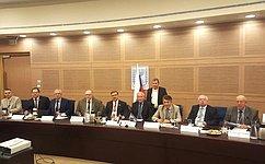 Совместное заседание двух Комитетов СФ иКомиссии Кнессета Государства Израиль состоялось вИерусалиме