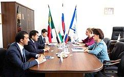 В. Петренко обсудила сПослом ОАЭ вРФ сотрудничество всоциальной сфере, укрепление межрегиональных связей