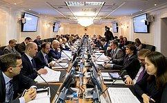 Меры поразвитию сотрудничества вЗабайкальском крае обсудили вКомитете СФ помеждународным делам