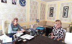 Т. Гигель: ВРеспублике Алтай активно развивается производство продукции издикоросов