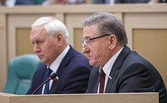 Правовое регулирование лоббистской деятельности, защиту населения отсект обсудили сенаторы входе «парламентской разминки»