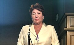 Е. Перминова: Евразийский женский форум— важнейшая часть национального механизма поулучшению положения женщин