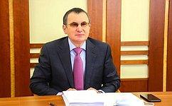 Н.Федоров принял участие взаседании Комиссии Правительства РФ позаконопроектной деятельности