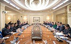 В. Матвиенко: Российско-таджикское стратегическое партнерство динамично развивается