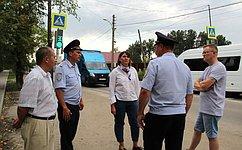 Ю. Лазуткина организовала мониторинг безопасности дорог вблизи образовательных организаций