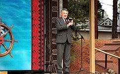 ВВологодской области состоялся четвертый Всероссийский детский фестиваль «Наследники традиций»— Ю.Воробьев