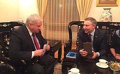 Врамках визита вКНР российские сенаторы обсудили межпарламентское взаимодействие, опыт законодательной работы