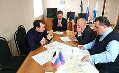 Ю. Федоров провел встречи сжителями сельских районов Удмуртии