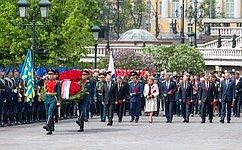 В.Матвиенко приняла участие вмероприятиях, посвященных празднованию годовщины Победы вВеликой Отечественной войне