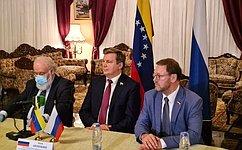 Наблюдатели изРоссии невыявили нарушений ворганизации парламентских выборов вВенесуэле— К.Косачев