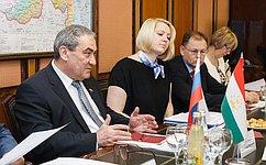Конференция межрегионального сотрудничества России иТаджикистана пройдет под патронатом парламентов двух стран– В. Штыров