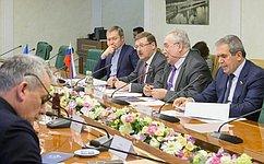Глава Комитета СФ помеждународным делам К. Косачев обсудил сделегацией Сената Франции вопросы активизации двусторонних межпарламентских контактов
