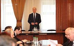 Н. Петрушкин принял участие взаседании попечительского совета кадетского движения Республики Мордовия